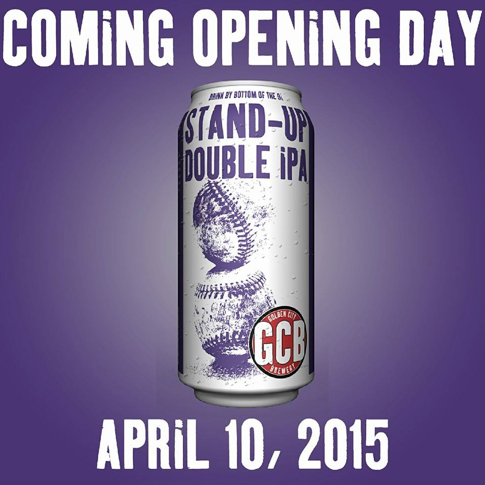 GCB release opending day beer - stand up double ipa - dbb - 04-10-2015