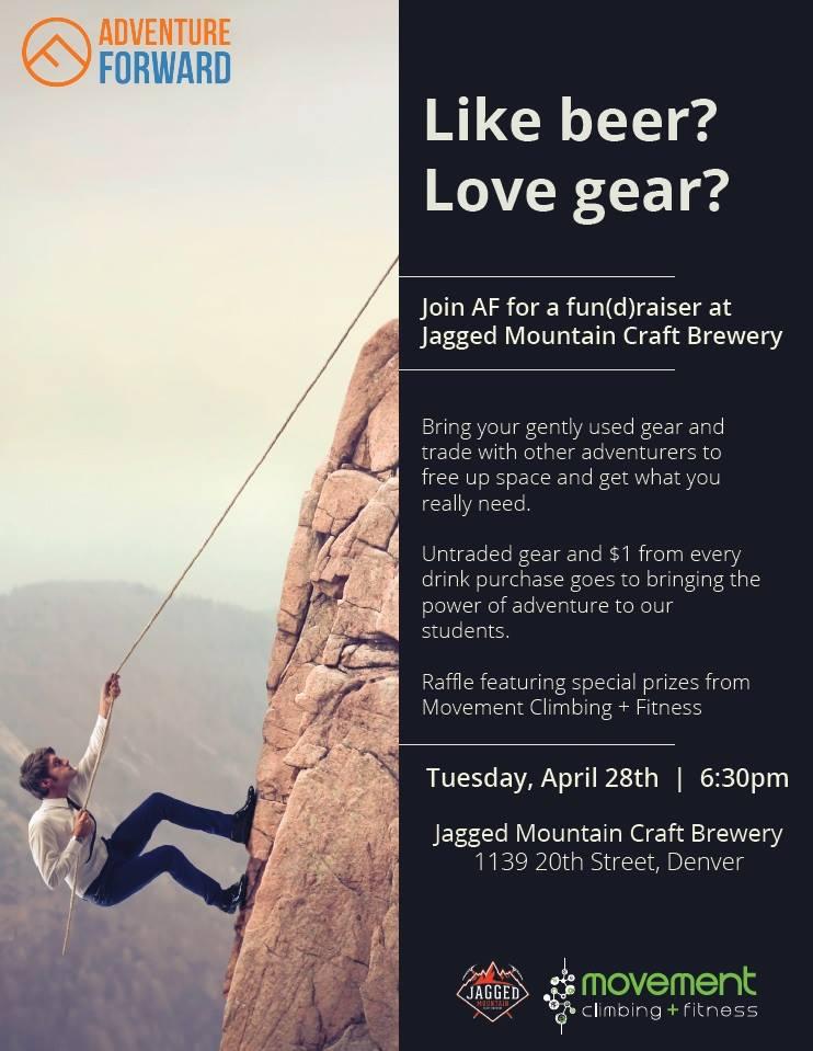 adventure forward fundraiser at jagged mountain - dbb - 04-28-15