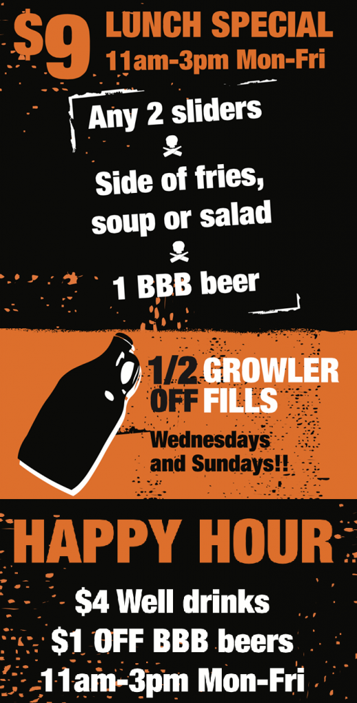 bbb - weekly specials - denver beer beat