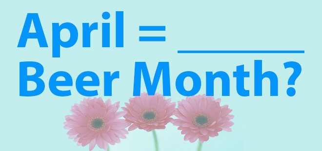 april beer month