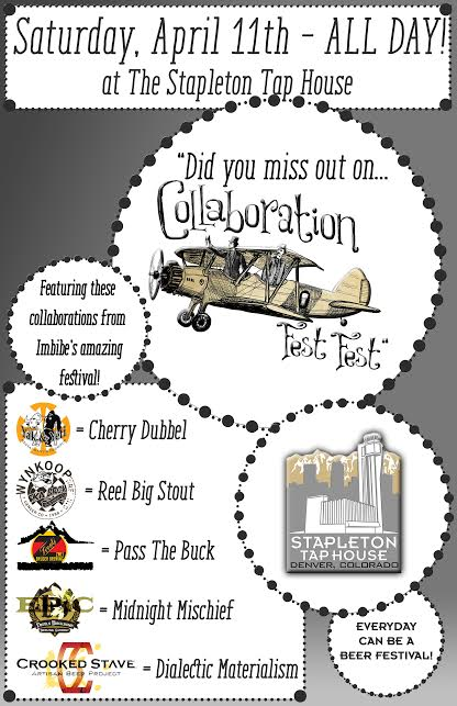 collabo fest redo at stapleton tap house - dbb - 04-11-15