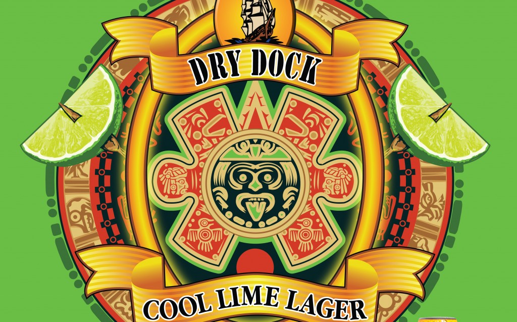 Cool Lime Lager Dry Dock