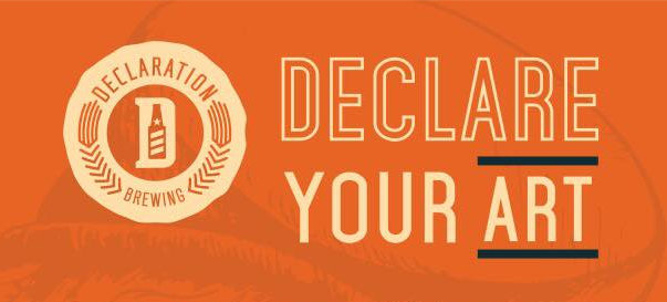 declare your art at declaration brewing - dbb - 04-22-2015