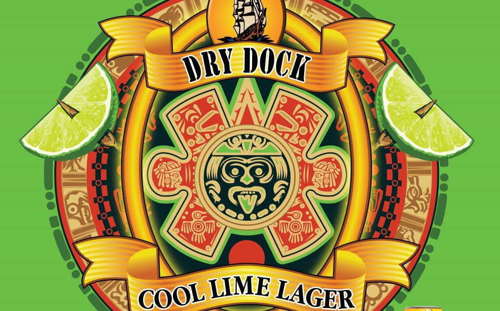 dry dock cool lime lager release at north dock - dbb - 04-24-2015