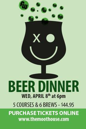 fw beer dinner at the moot house - dbb - 04-08-2015