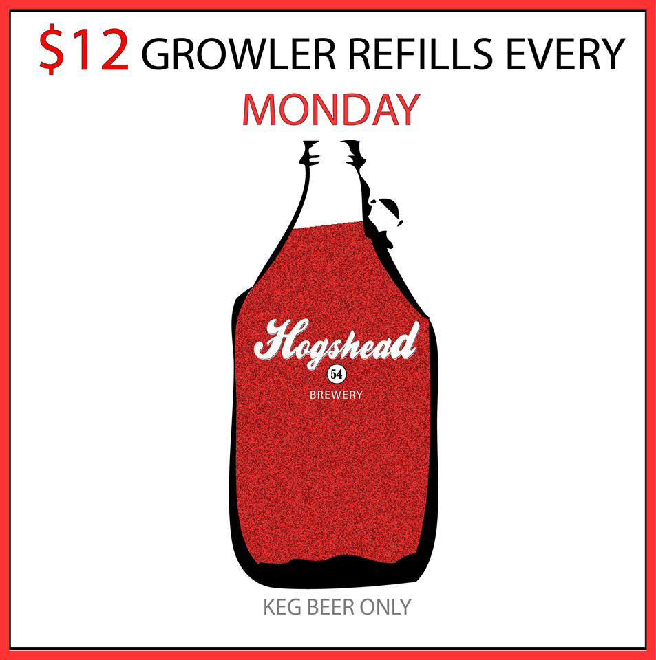 hogshead brewery - $12 growler refills every monday - denver beer beat