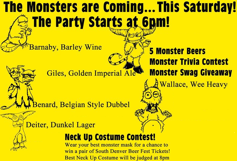 monster beers at high plains tap house - dbb - 04-25-2015