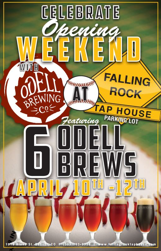 odell at falling rock for opening day - dbb - 04-10-2015