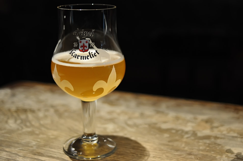 tripel karmeliet glass - dbb - 04-14-2015