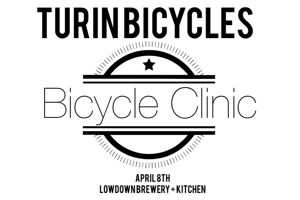turin bicycles - commuter and road bike clinic - lowdown brewery + kitchen - dbb - 04-08-2015