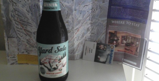 Uinta Brewing Company | Yard Sale Winter Lager