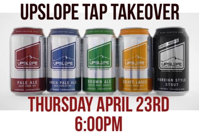 upslope mini tap takeover at colorado plus - dbb - 04-23-2015