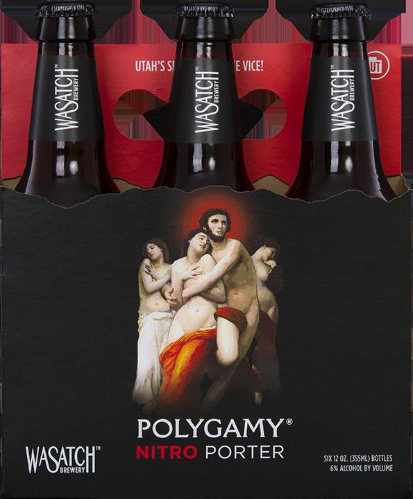 wasatch - polygamy NITRO porter tasting at WOB - dbb - 04-16-15