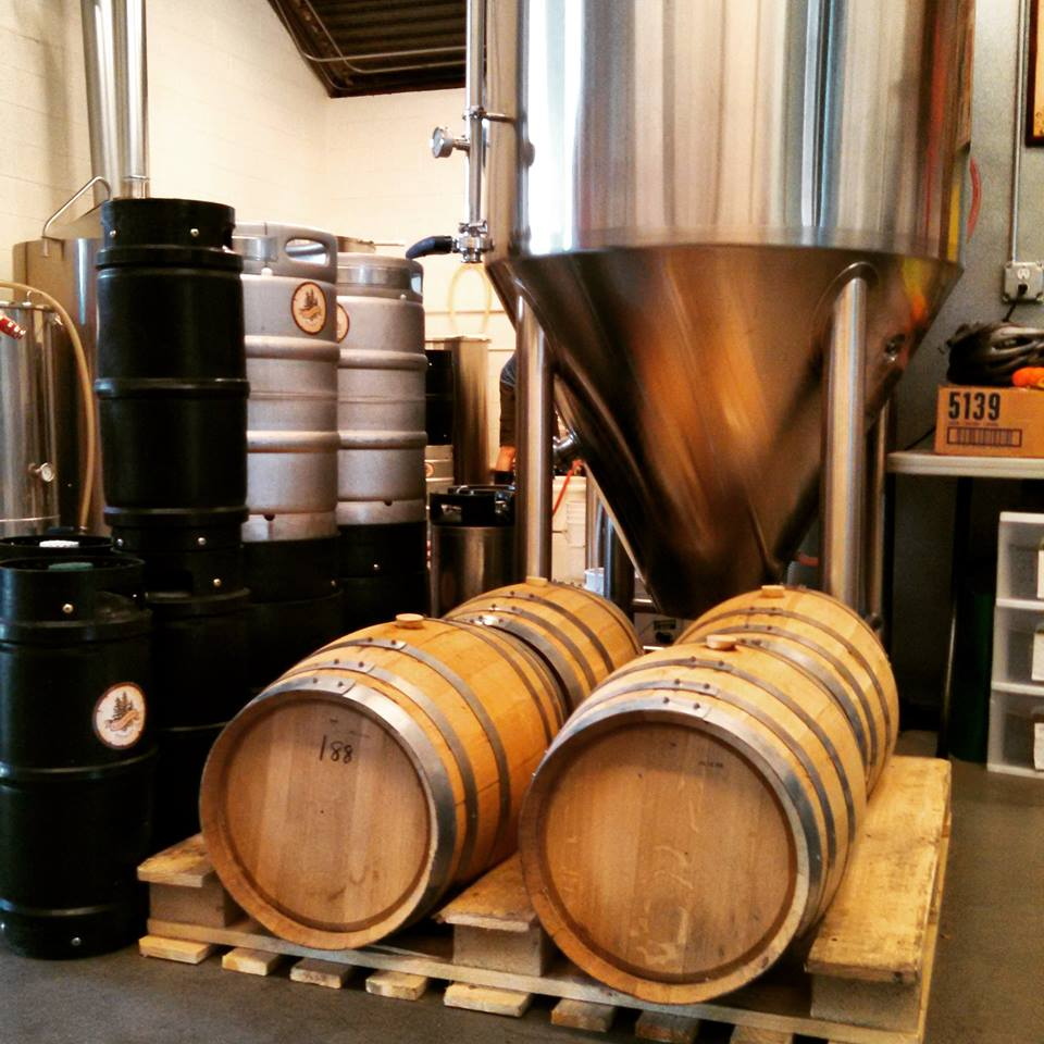wwb taps gin barrel aged treeline ipa - dbb - 04-09-2015