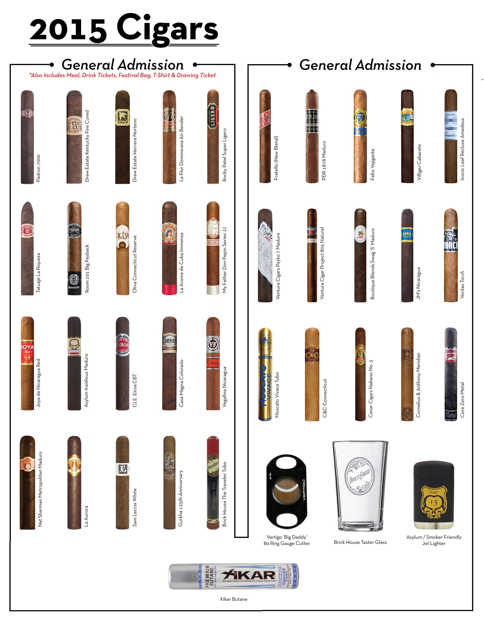 2015 Cigars