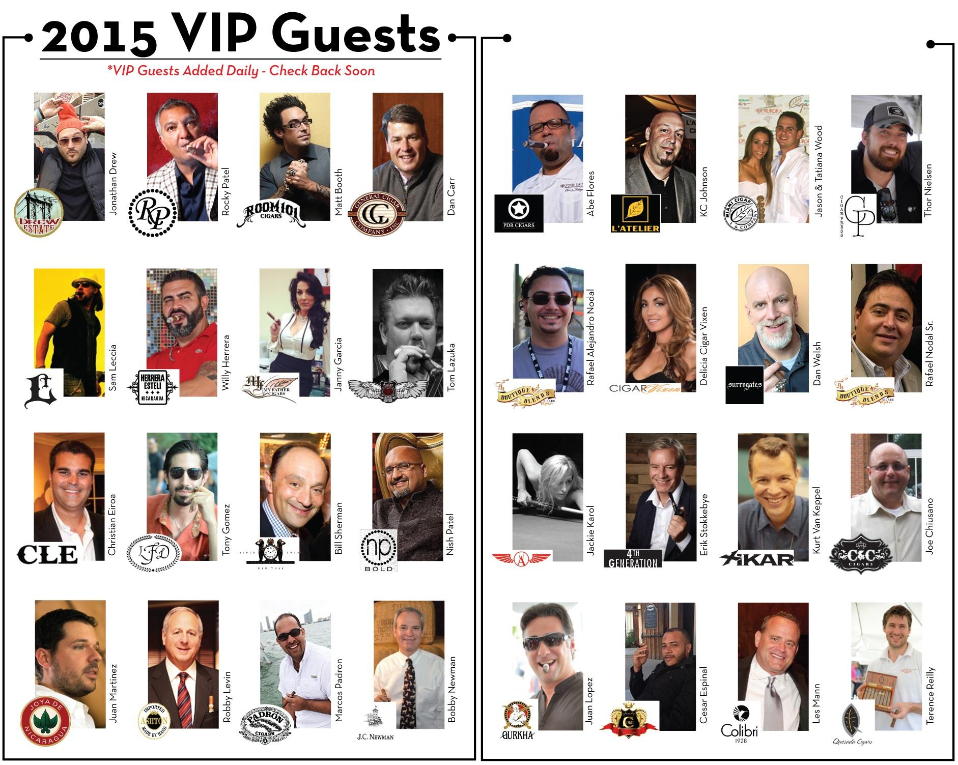 2015 VIP Guests