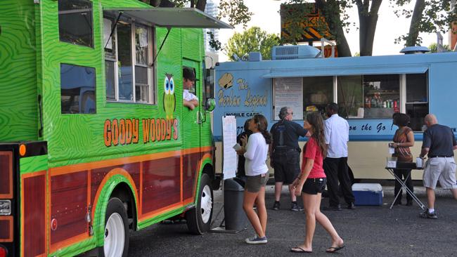 Charlotte's vibrant food truck scene. (Creative Commons/James Willamor)