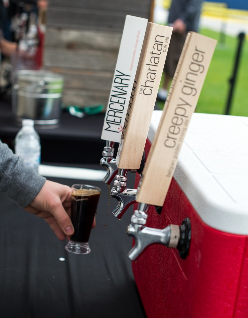 Confused by the Mercenary tap handles? Maplewood is the new name for Mercenary and they still haven't gotten their new handles yet. Photo by Eric Dirksen.