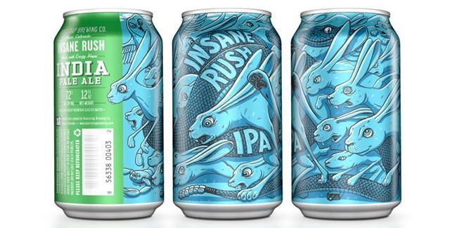 Bootstrap Brewing Insane Rush® IPA