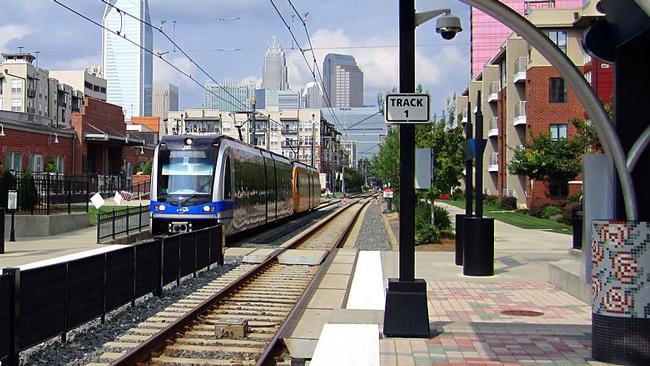 The LYNX at Bland Street. (Wikipedia/Prasit Frazee)