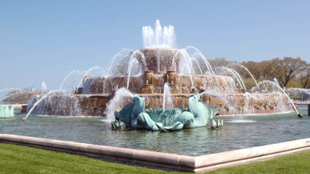 Buckingham Fountain will be the host for The Chicago Ale Fest.