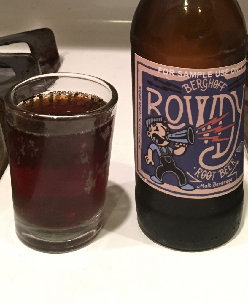 While the sample came in a bottle, Rowdy will only be available in cans or on draft.