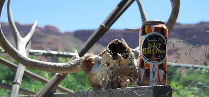 Moab Brewery | Squeaky Bike Nut Brown Ale