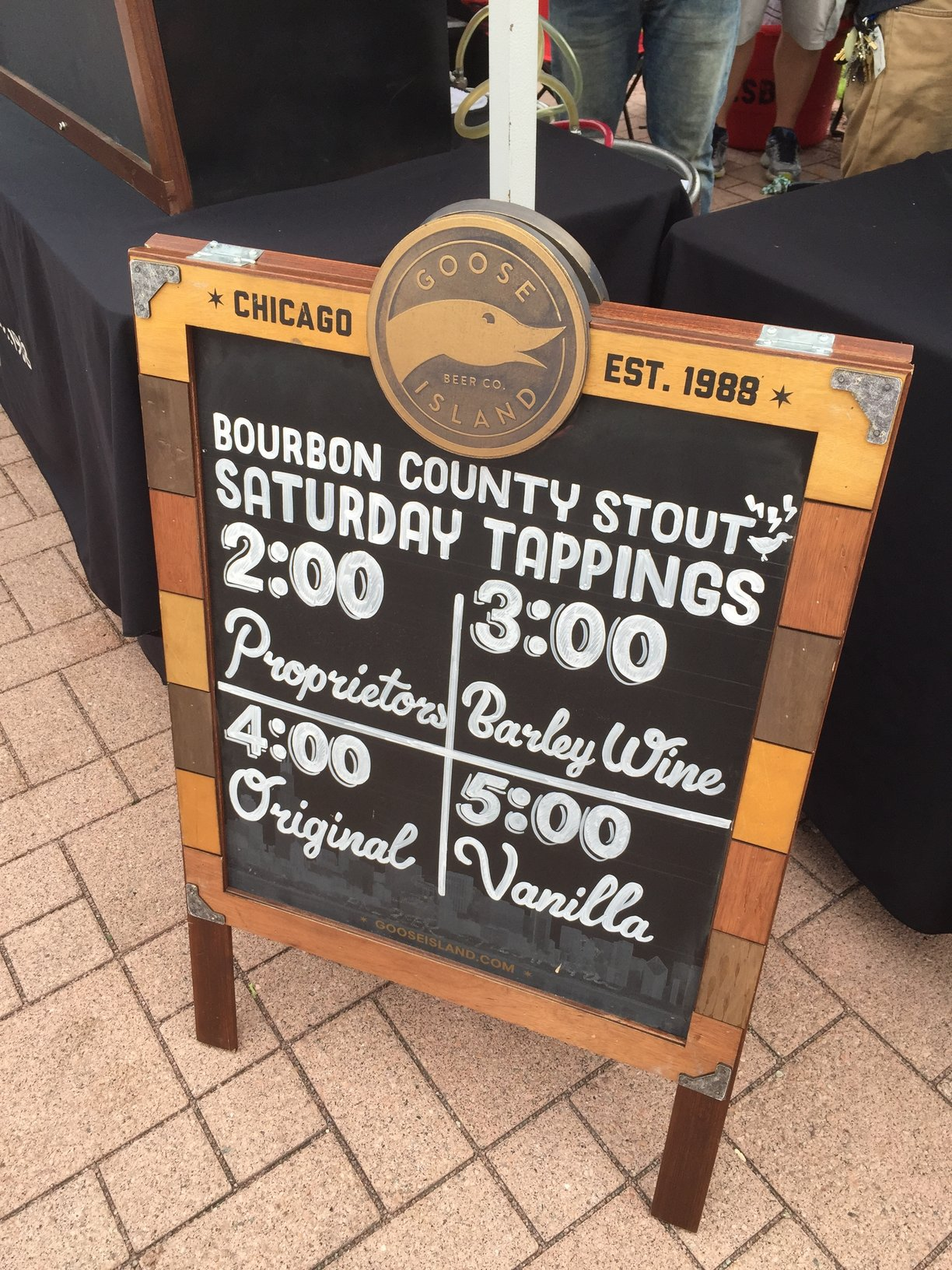 Goose Island brought some pretty good beers to the 2015 Chicago Ale Fest.
