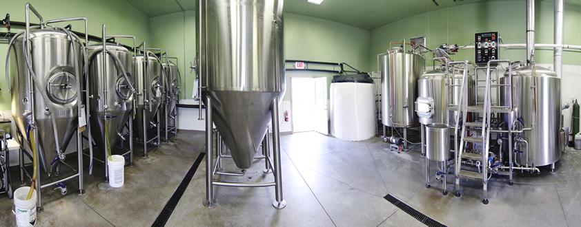 high hops brewery - system