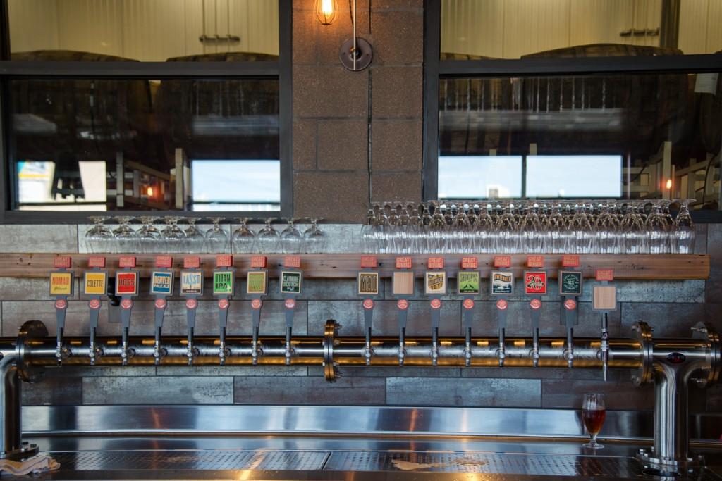 Great Divide Brewing Company Barrel Bar