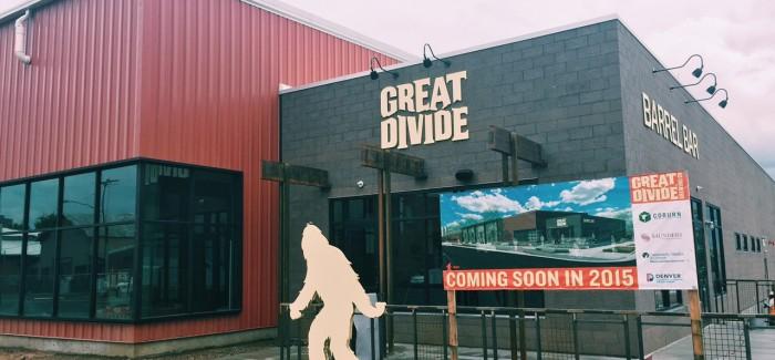 Great Divide Brewing Brighton Boulevard RiNo