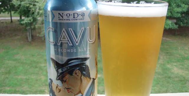 NoDa Brewing | CAVU Blonde Ale