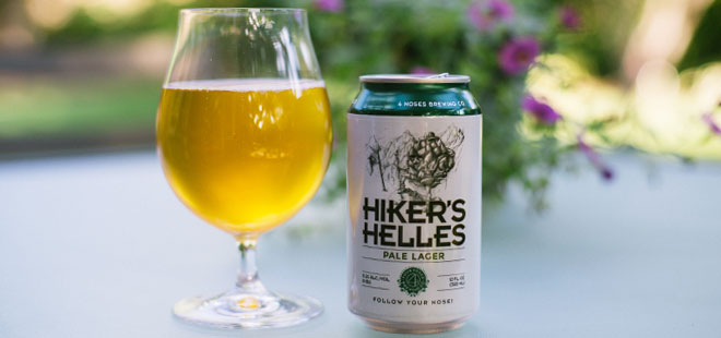 4 Noses Brewery Company | Hiker's Helles