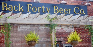 Back Forty Beer Company in Gadsden, Alabama. (Eric Wright/ericwright.com)