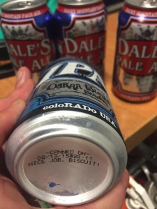 Odell beer can