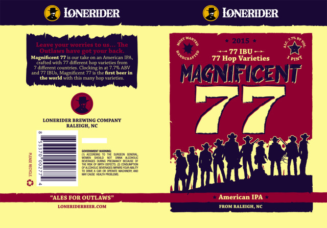 Lonerider Magnificent 77