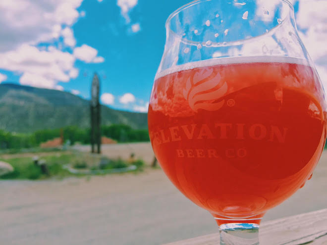 Elevation Beer Company Raspberry Gulch