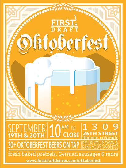 First Draft Oktoberfest