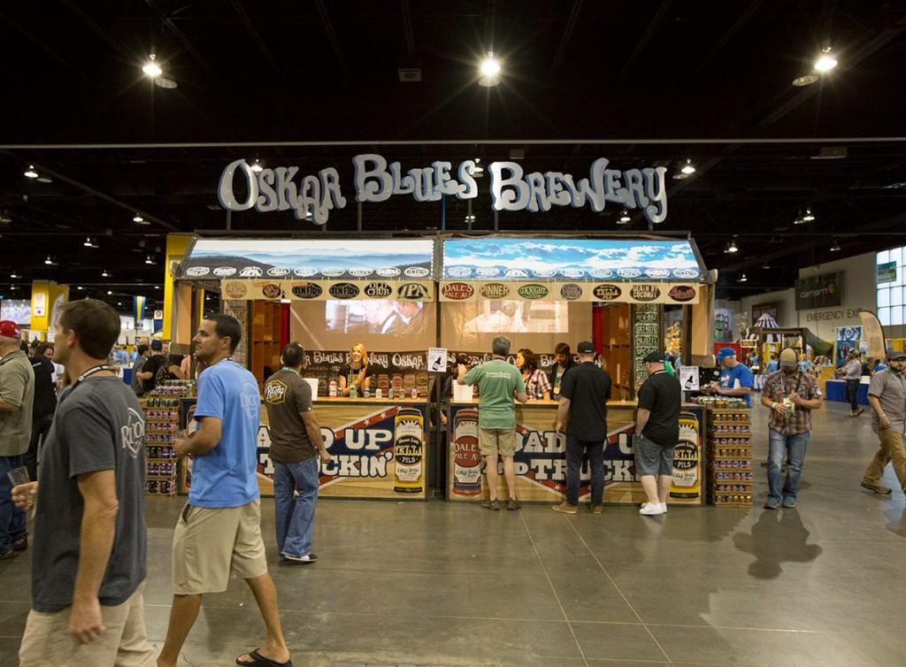 Oskar Blues Brewery GABF 2015