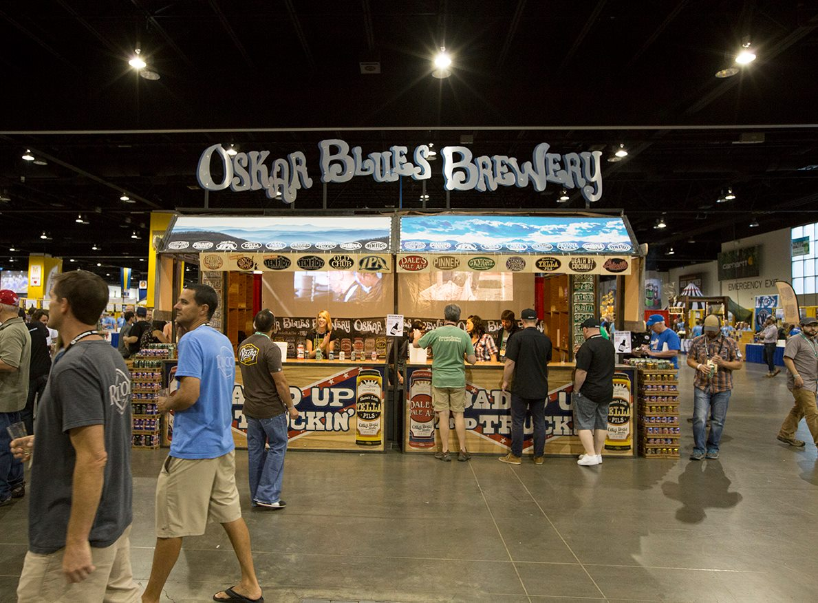 Oskar Blues Brewery GABF 2015