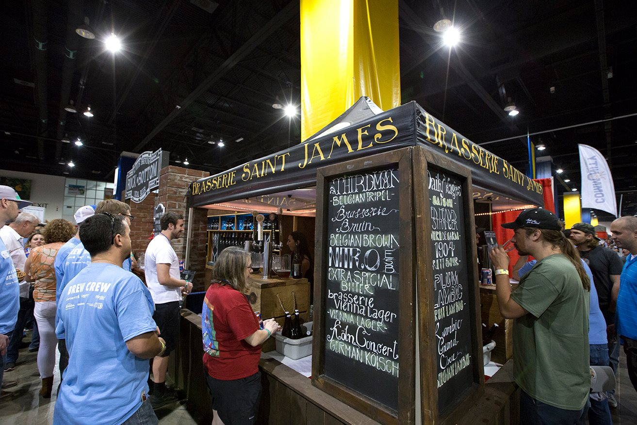 Brasserie St. James GABF 2015