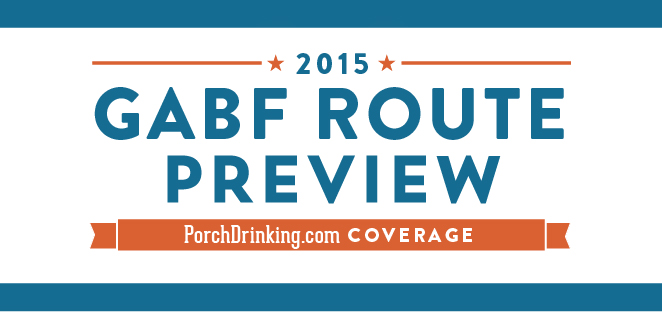 GABF 2015 Route Preview