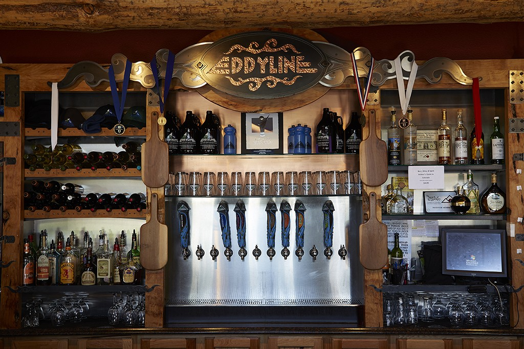 Eddyline Brewery and Taproom Winter Buena Vista Chaffee County Colorado