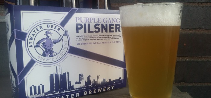 Atwater Brewery | Purple Gang Pilsner