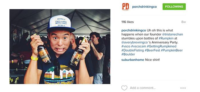 PorchDrinking Instagram
