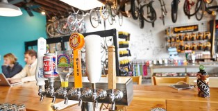 Denver Bicycle Cafe Charity Tap Handle