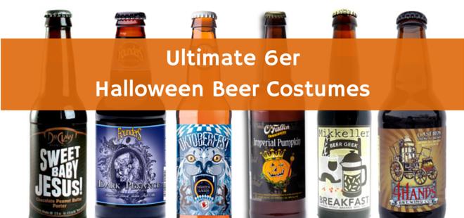 Ultimate 6er | Halloween Beer Costumes