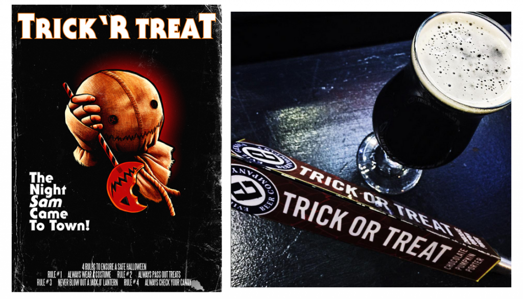 trick r treat 4 rules and Evil Genius Trick Or Treat Ale