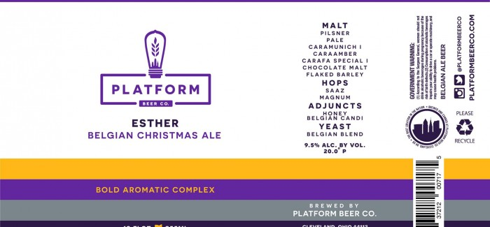 Platform Beer Co. | Esther Belgian Christmas Ale