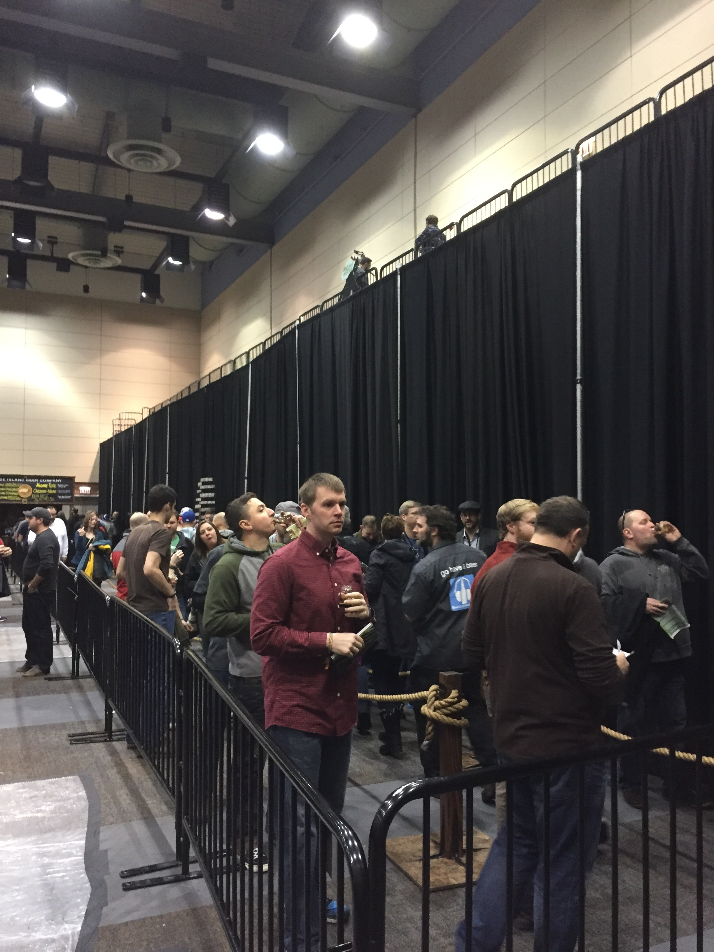 The line for BCBS Rare formed quickly